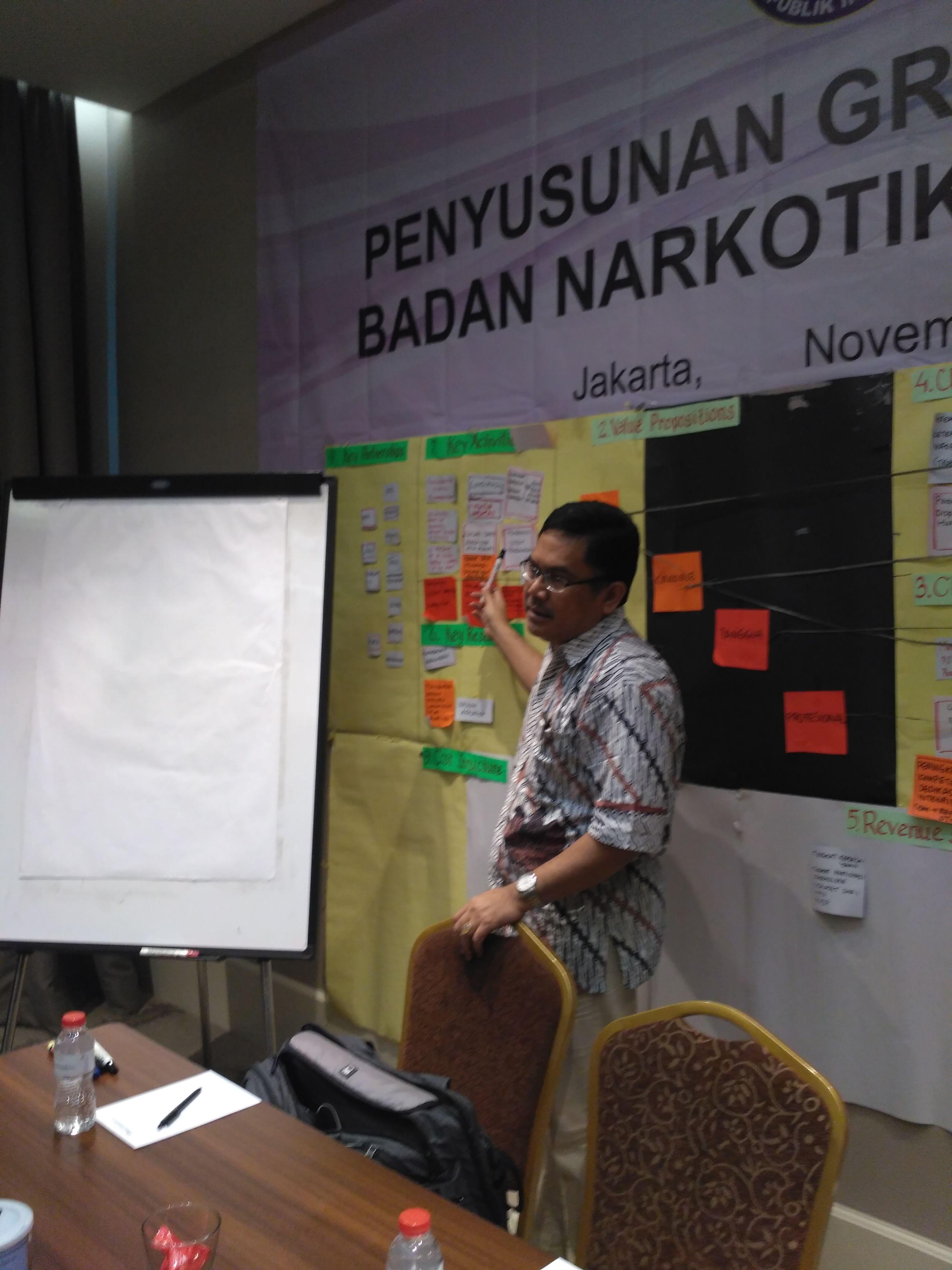 Penyusunan Grand Design BNN, Swiss BelHotel, Jakarta 15 November 2016